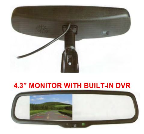 Mirror Monitor Recording System